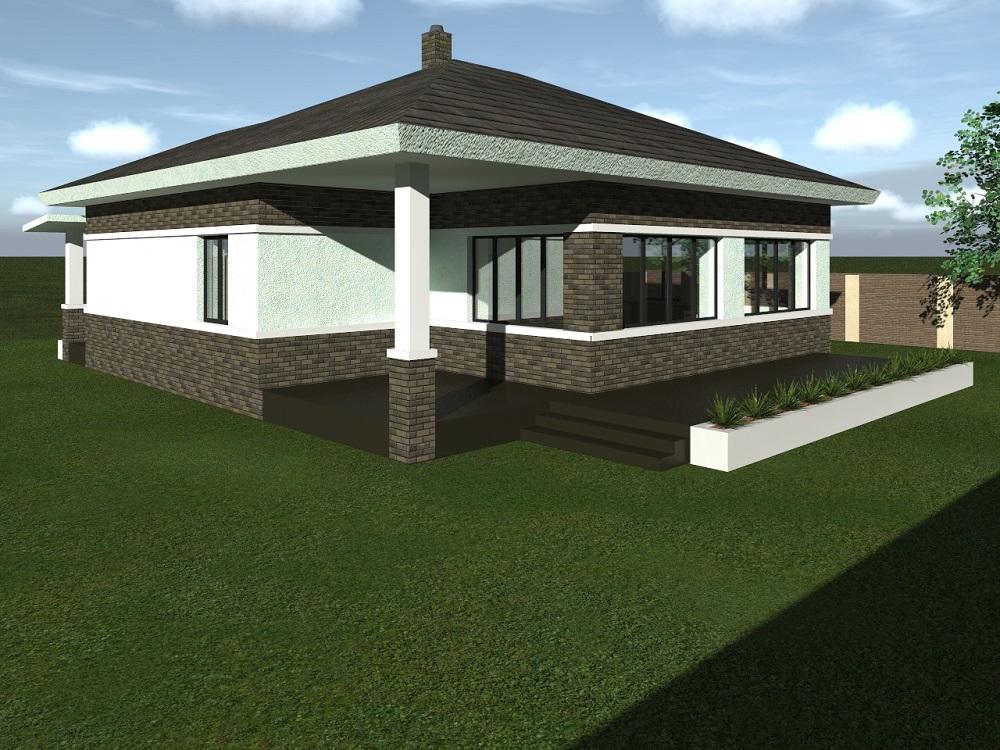 Купити проект одноповерхового будинку Грей