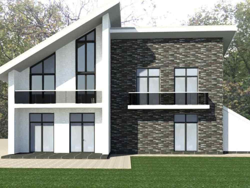Проект одноэтажного дома Бэтти главная