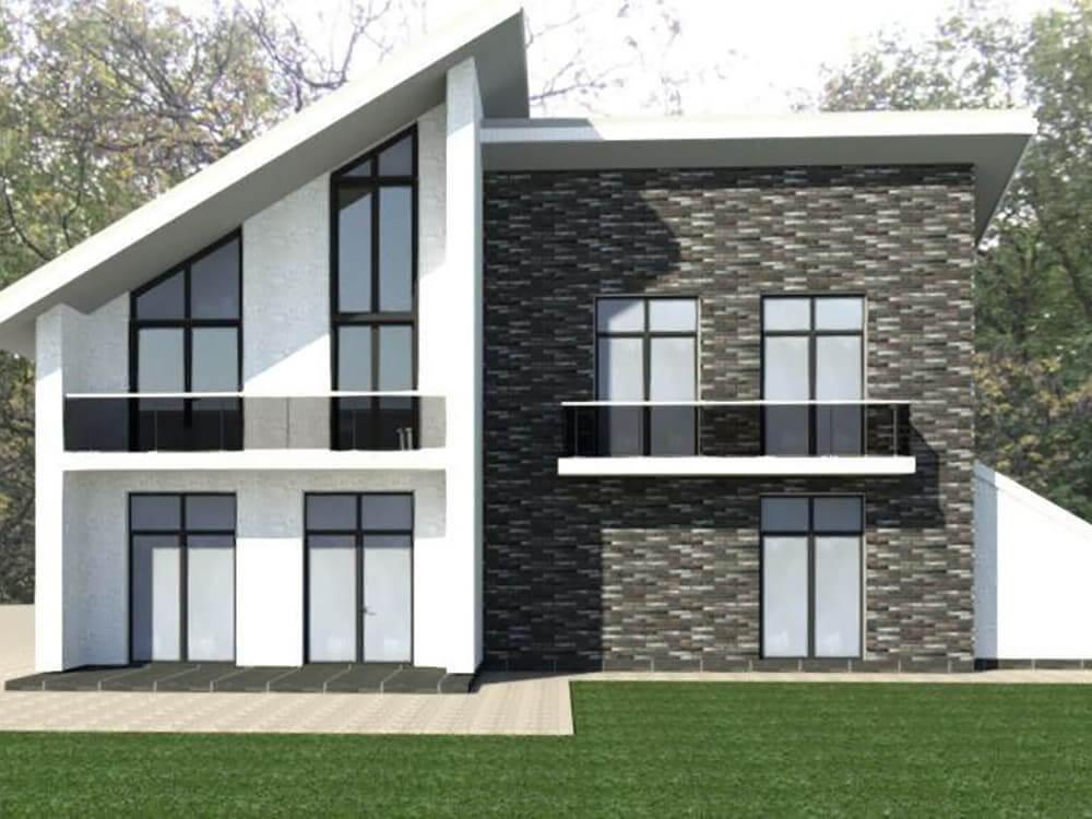 Проект двоповерхового будинку Бетті - головна
