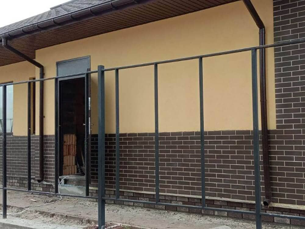Дом из керамоблока в Вышгородском районе - Главная