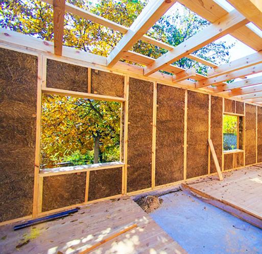 Переваги будинку із соломи