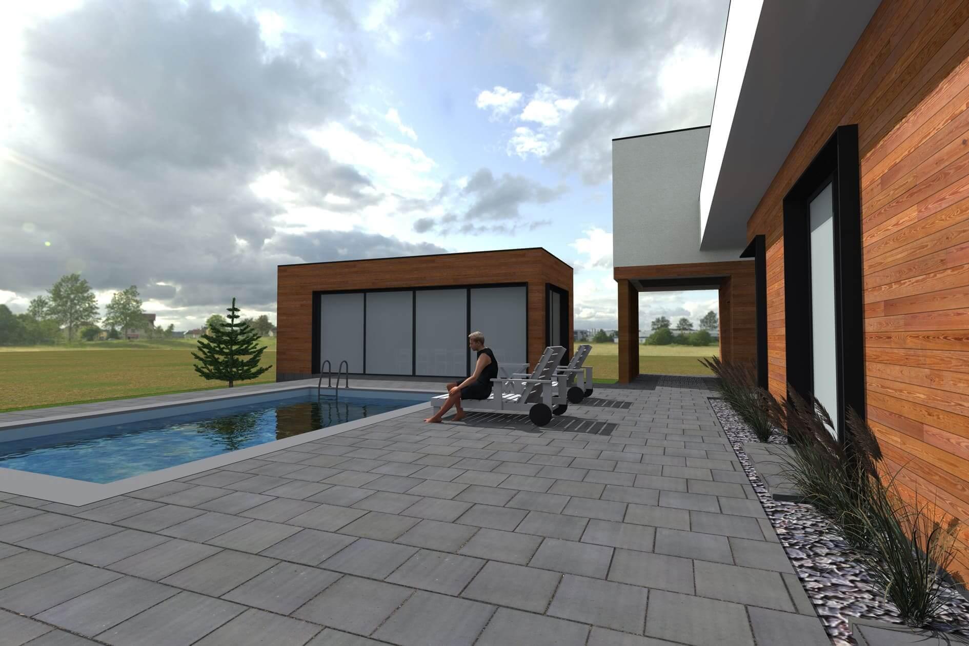 Замовити робочий проект одноповерхового дому Міріам