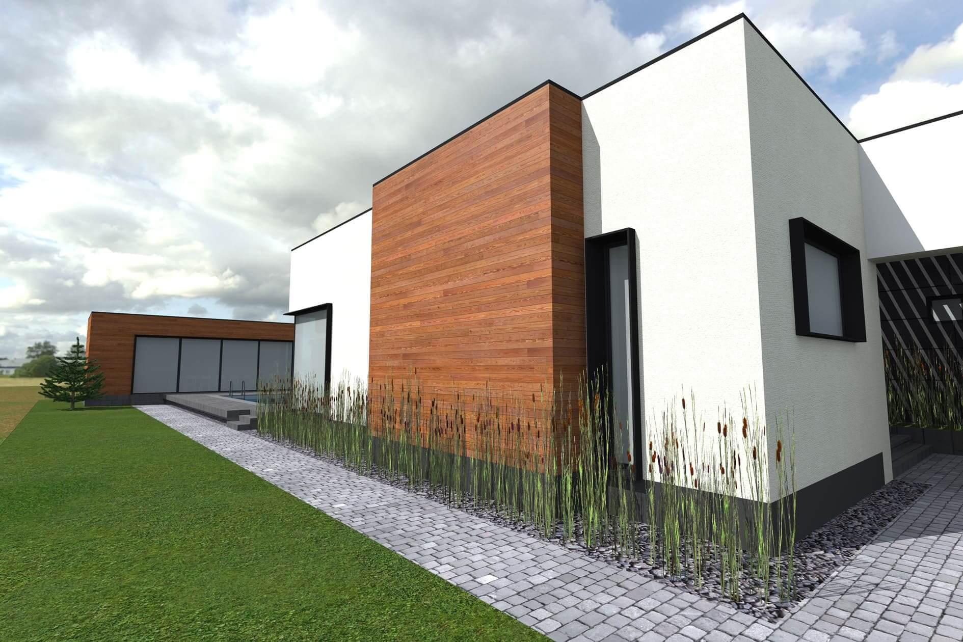 Розробка індивідуального проекту одноповерхового дому Міріам