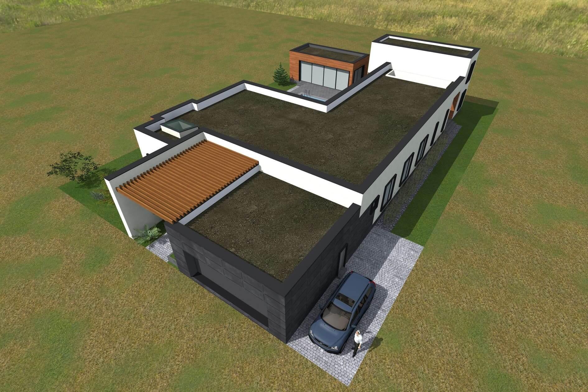 Замовити проект одноповерхового дому Міріам
