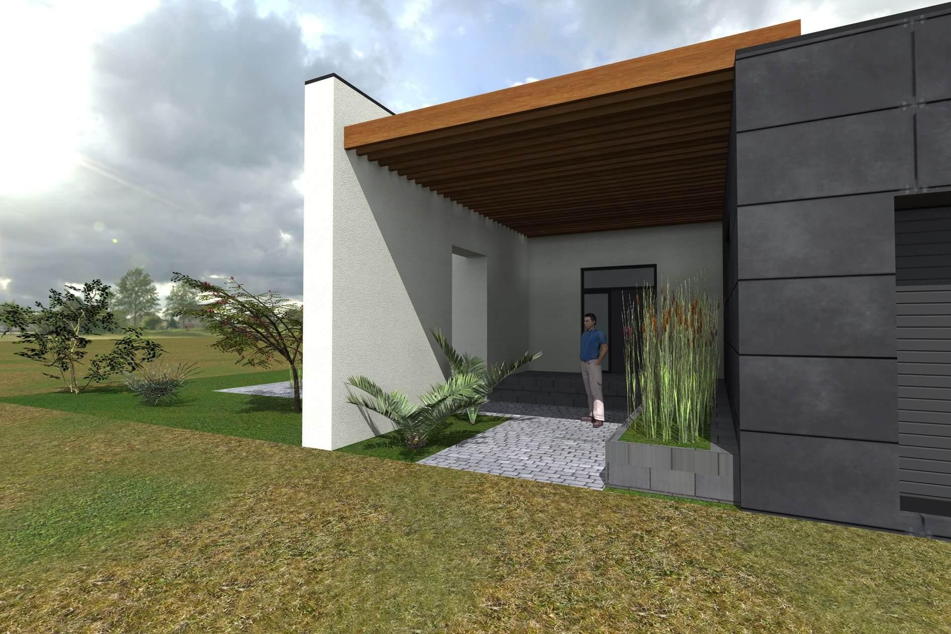 Робочий проект одноповерхового будинку Міріам