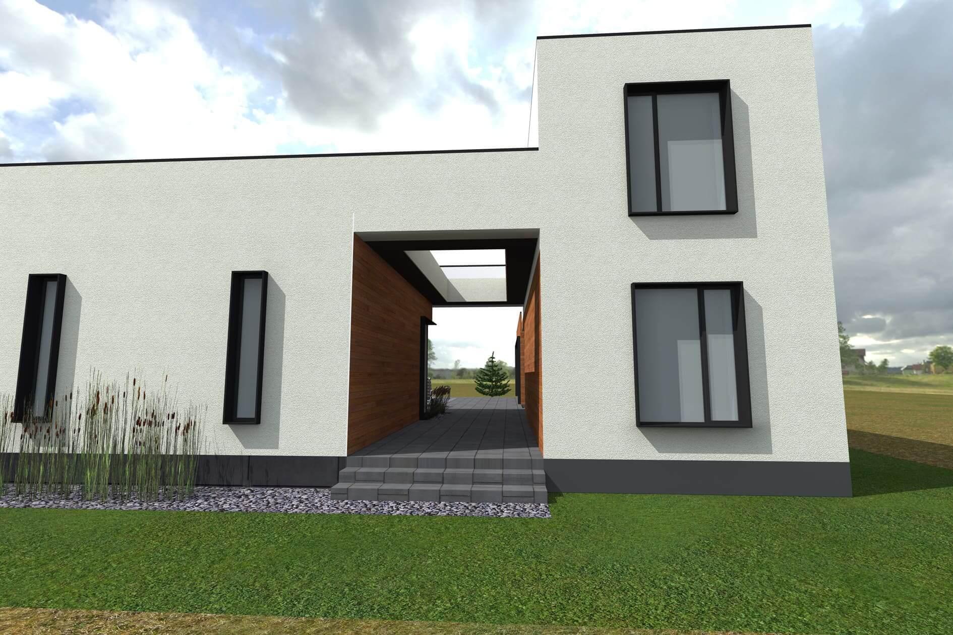 Проектування одноповерхового дому Міріам