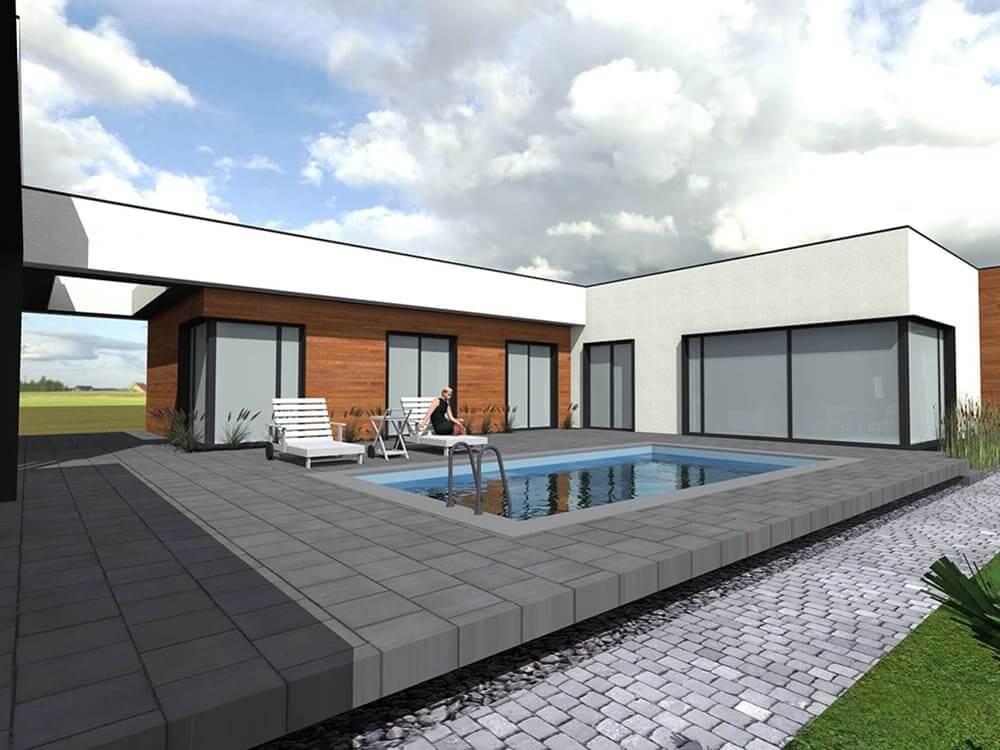 Проект одноповерхового будинку Міріам - головна