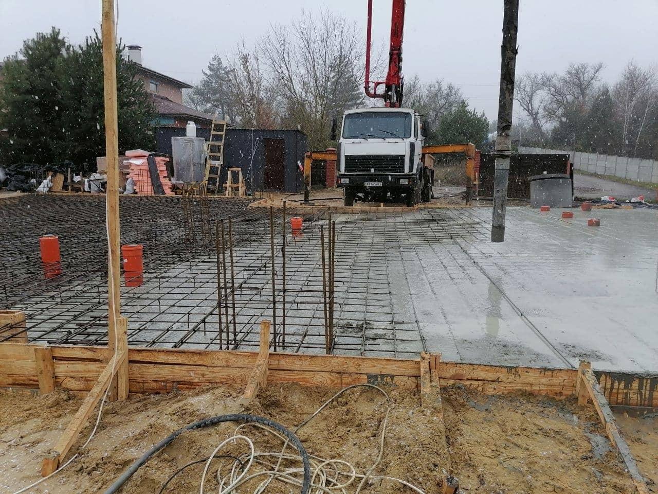 заливка бетона 1