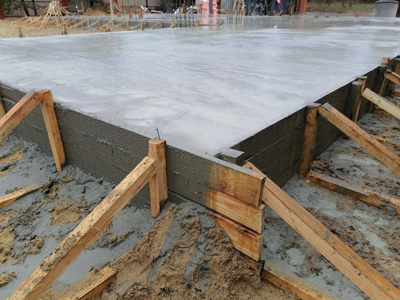 заливка бетона 2