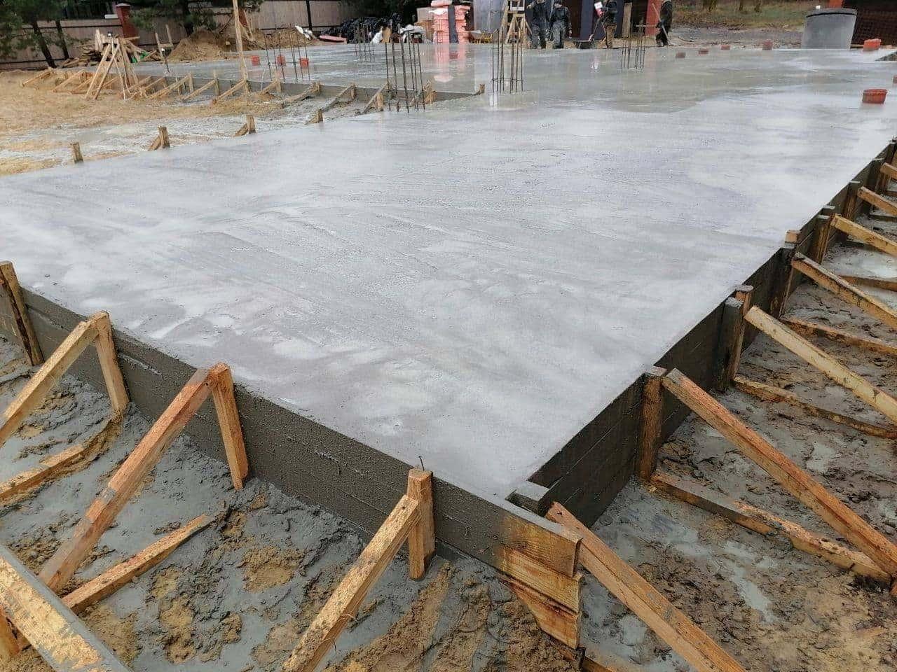 заливка бетона 3